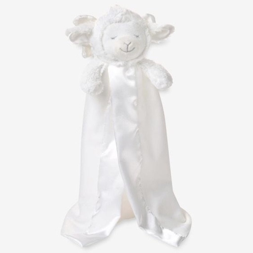 ELEGANT BABY PRAYER LAMB BLANKIE