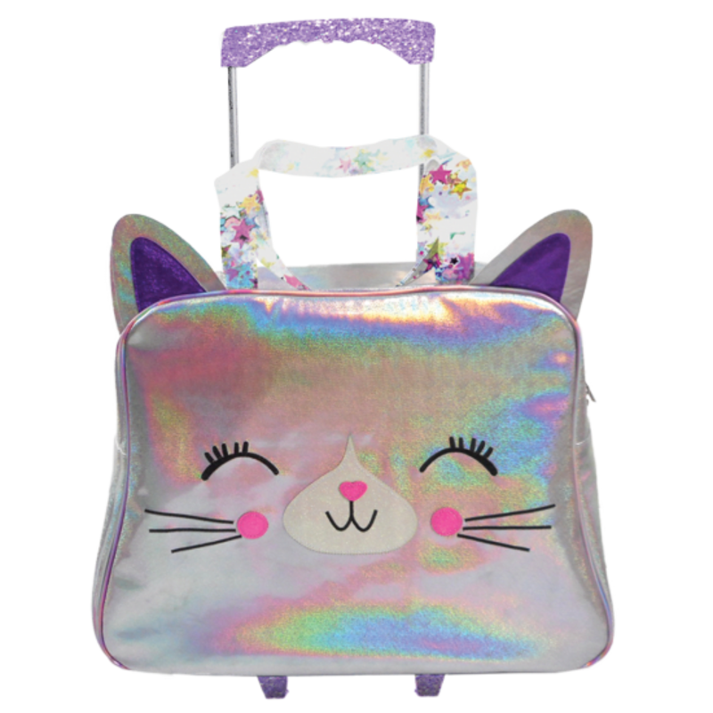 ISCREAM CATICORN HOLOGRAPHIC ROLLING BAG