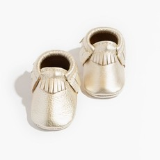 FRESHLY PICKED PLATINUM MINI SOLE MOCCASIN