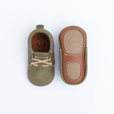 FRESHLY PICKED FERN OXFORD MINI SOLE MOCCASIN