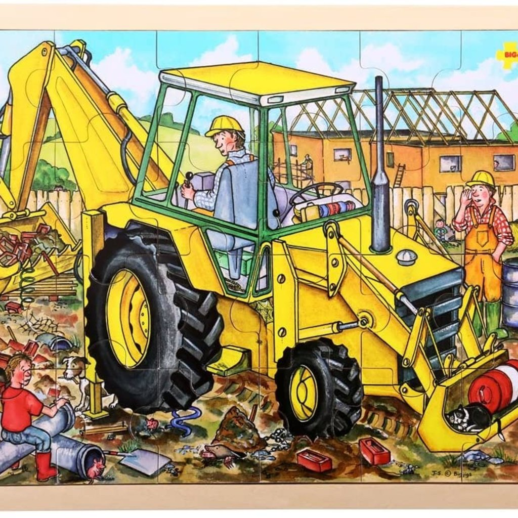 BIG JIGS 24PC TRAY PUZZLE- DIGGER
