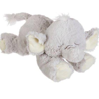 """Ganz 12"""" SLEEPY ELEPHANT W/ CHIME"""