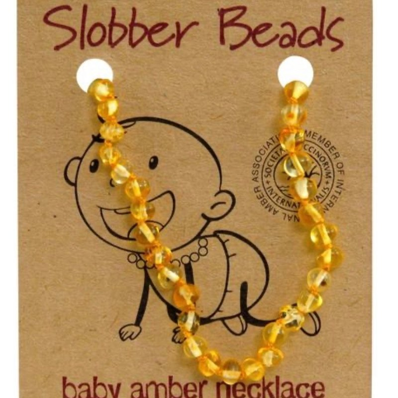 BABY AMBER NECKLACE- 32-33 cm (0 to 2.5yrs old)