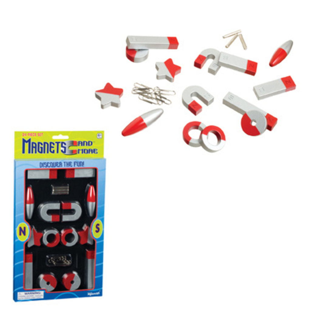 TOYSMITH MAGNETS 24PC SET