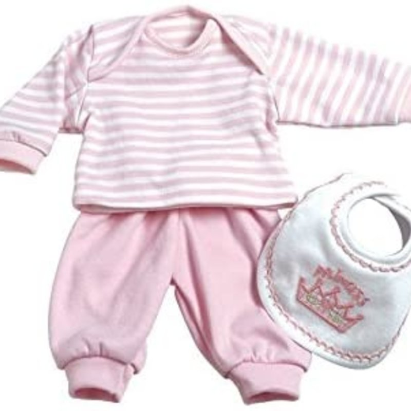 ADORA 3PC LAYETTE SET - PINK