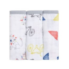ADEN + ANAIS 3PK WASHCLOTH SET - LEADER OF THE PACK
