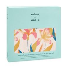 ADEN + ANAIS SILKY SOFT DREAM BLANKET MARINE GARDENS