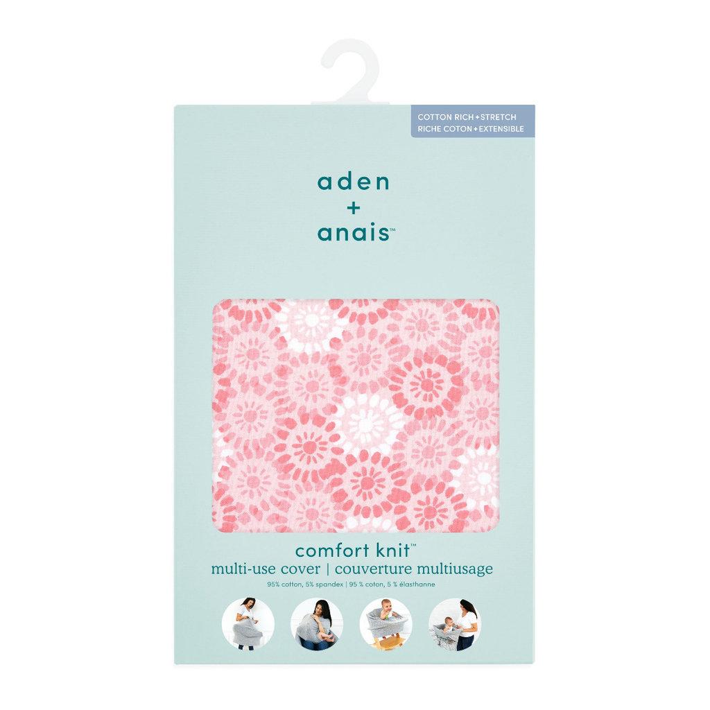 ADEN + ANAIS COMFORT KNIT  MULTIUSE COVER SUNBURST