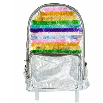 BARI LYNN PAILETTE BACKPACK