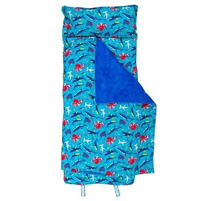 Stephen Joseph ALL-OVER PRINT NAP MAT - NEW SHARK