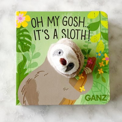 Ganz 4X4 SLOTH PUPPET BOOK
