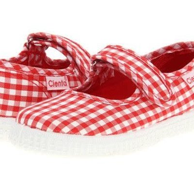CIENTA SHOES RED TODDLER GIRLS MARY JANE