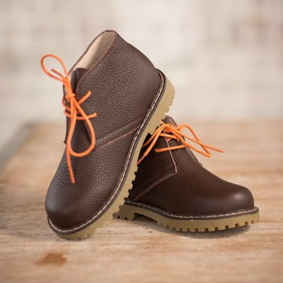 THE OAKS APPAREL COMPANY OAKS SIGNATURE BOYS BOOT- BROWN