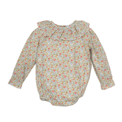 THE OAKS APPAREL COMPANY POSEY TAN FLORAL BUBBLE
