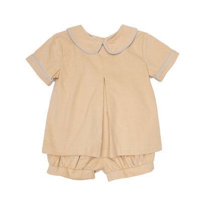 THE OAKS APPAREL COMPANY BARRETT TAN SHORT SET
