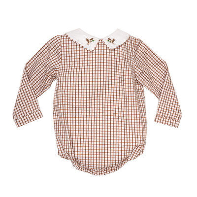 THE OAKS APPAREL COMPANY BAYLOR BROWN PLAID DUCK BUBBLE