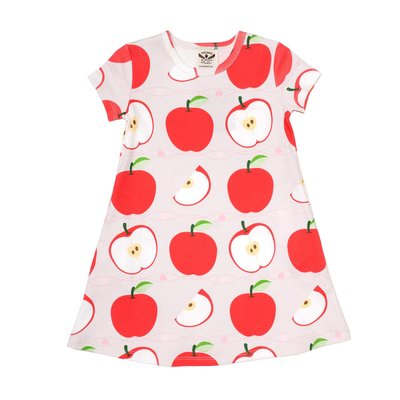 THE OAKS APPAREL COMPANY MARY CHASE APPLE DRESS- PIMA