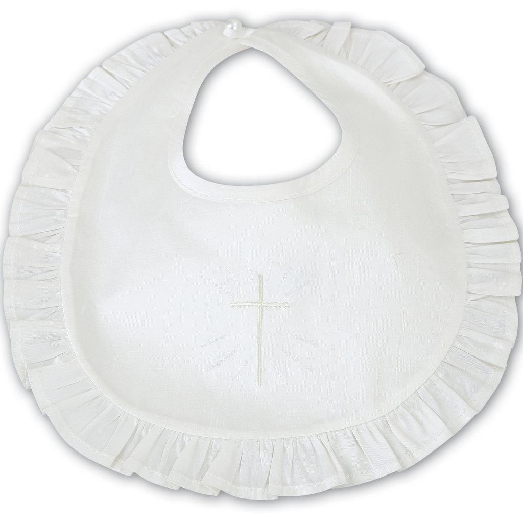 SARAH LOUISE 003317-CHRISTENING BIB