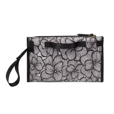 PETUNIA PICKLE BOTTOM NIMBLE DIAPER CLUTCH - BORDEAUX BLOOMS