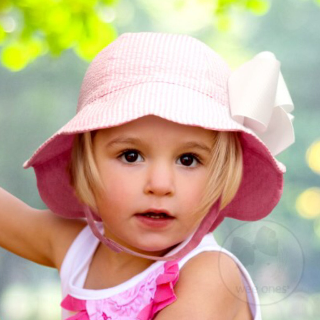 WEE ONES REVERSIBLE FLOPPY SCALLOPED BRIM