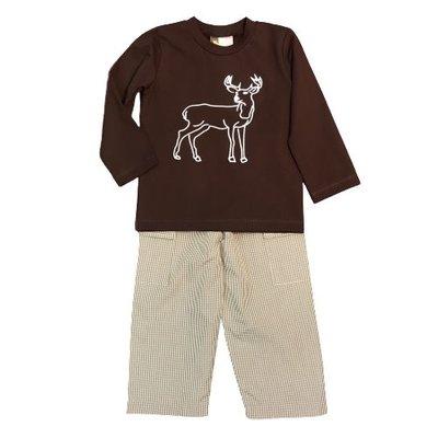 BANANA SPLIT DEER T-SHIRT AND PANTS