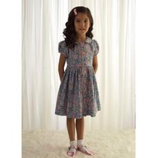 RACHEL RILEY LONDON WINTER FLORAL BUTTON FRONT DRESS