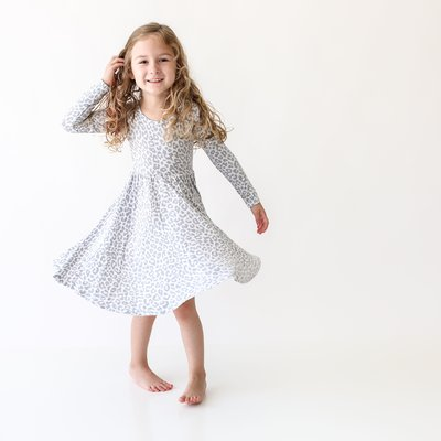 POSH PEANUT MINKA - LONG SLEEVE TWIRL DRESS