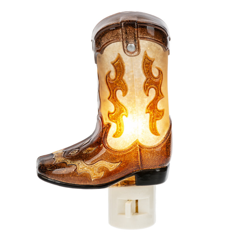 Ganz COWBOY BOOT NIGHT LIGHT