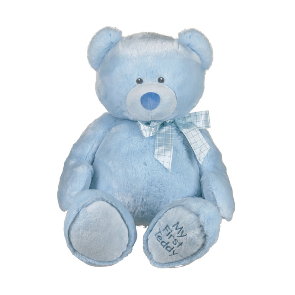 """Ganz 25"""" MY FIRST TEDDY- BLUE"""