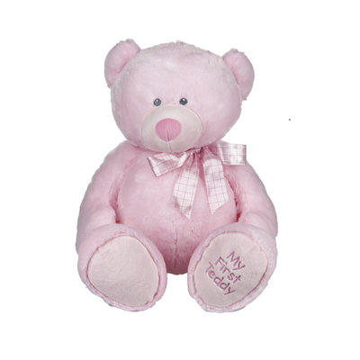 "Ganz 25"" MY FIRST TEDDY- PINK"