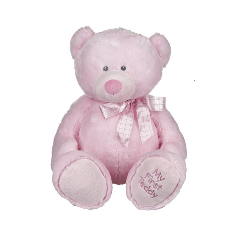 """Ganz 25"""" MY FIRST TEDDY- PINK"""