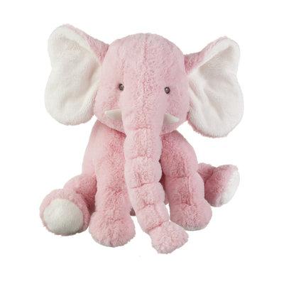 """Ganz 14"""" JELLYBEAN ELEPHANT- PINK"""