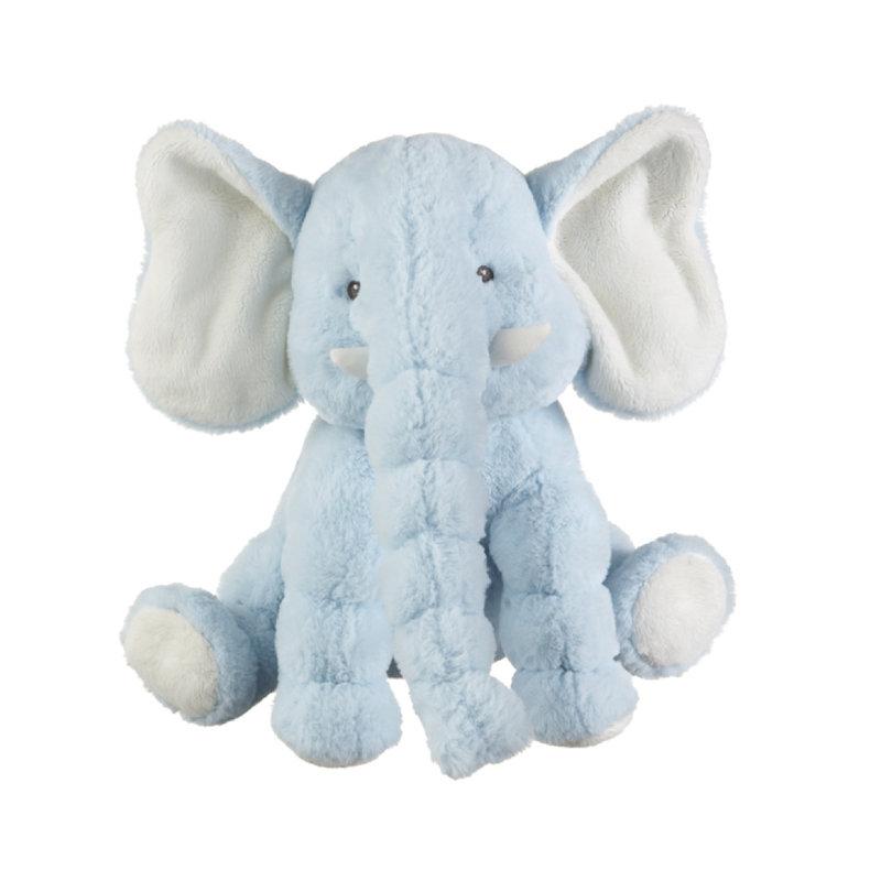 """Ganz 14"""" JELLYBEAN ELEPHANT- BLUE"""