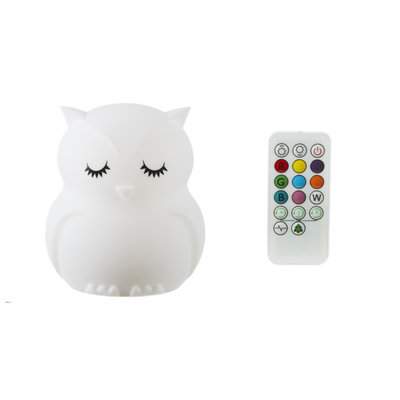 Ganz OWL NIGHT LIGHT WITH REMOTE