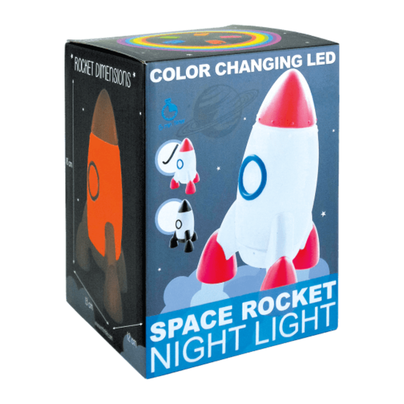 ISCREAM ROCKET NIGHT LIGHT