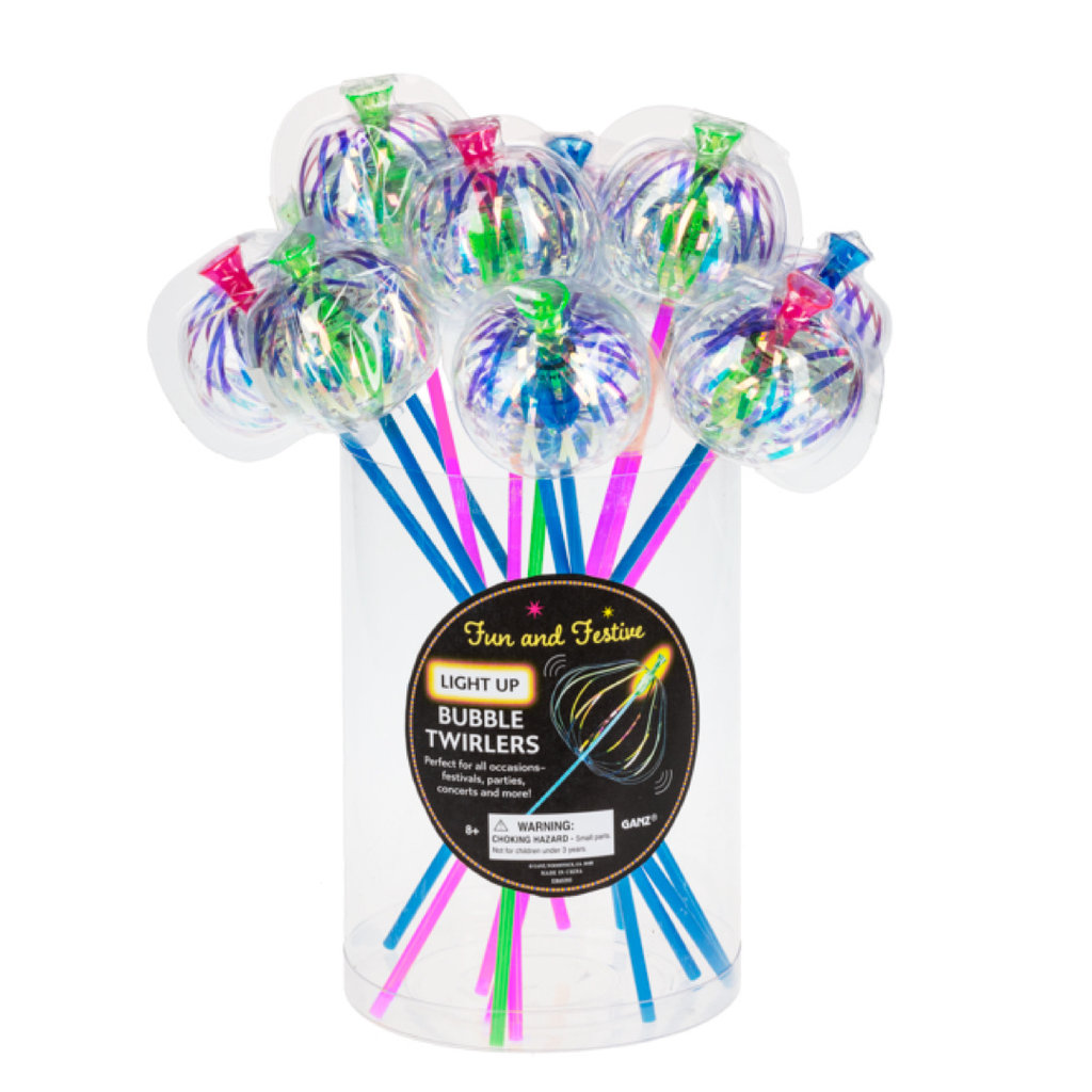 Ganz LIGHT UP BUBBLE TWIRLERS
