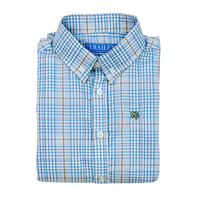 J.BAILEY BUTTON DOWN SHIRT- EPWORTH PLAID