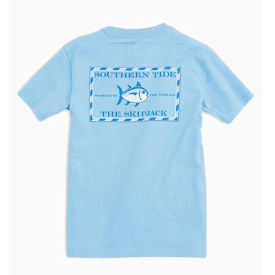 SOUTHERN TIDE YOUTH SS CLASSIC SKIPJACK TEE