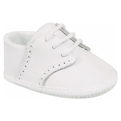 BABY DEER LINDEN CS WHT LEATHER SADDLE OXFORD WHITE