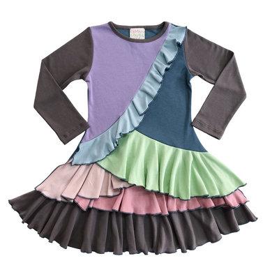 LEMON LOVES LIME BOHEMIAN DRESS