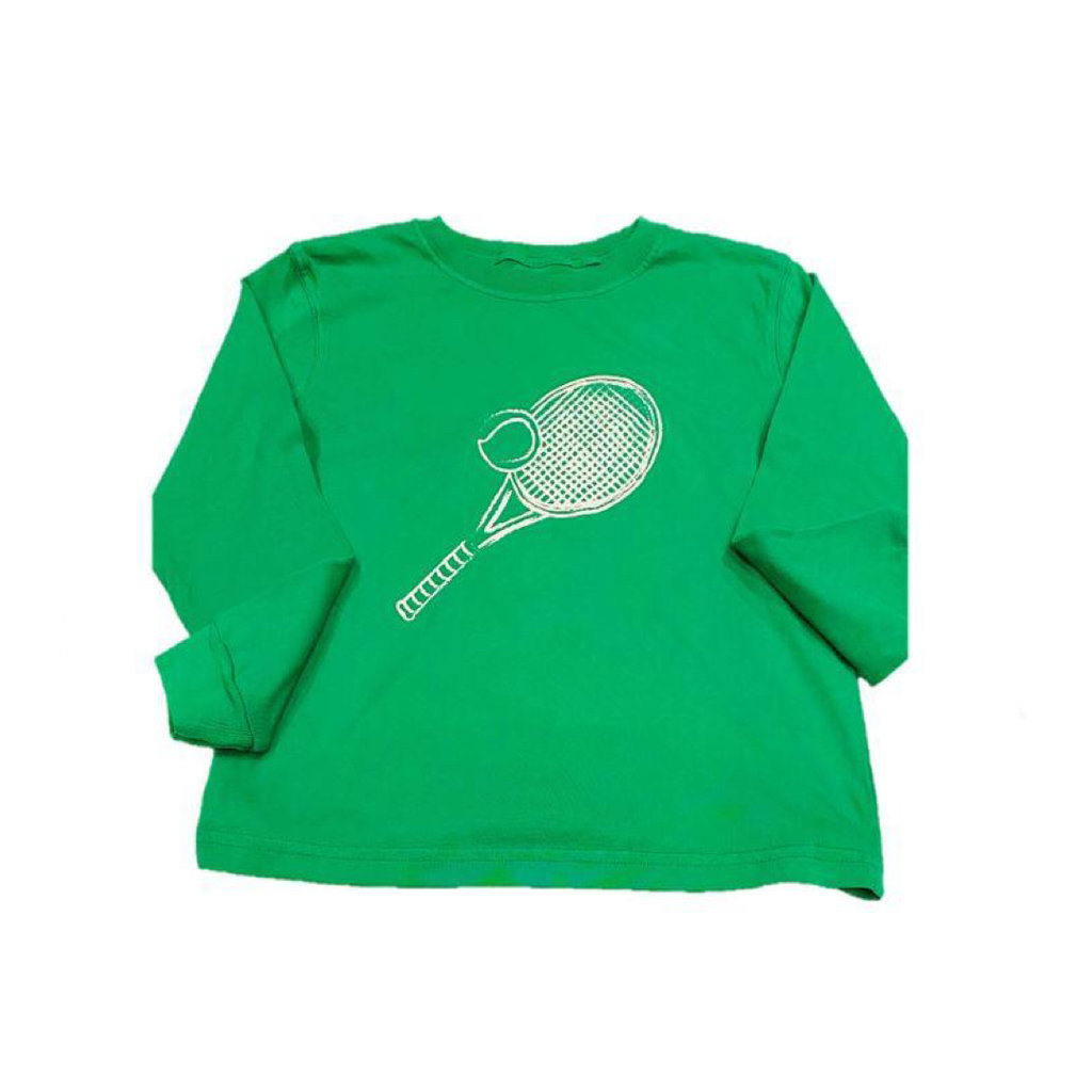 MUSTARD AND KETCHUP KIDS LS TENNIS TEE