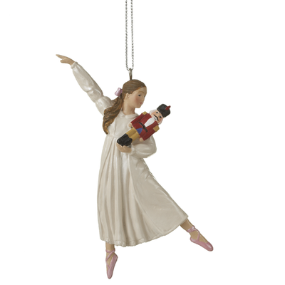 Ganz CLARA NUTCRACKER ORNAMENT