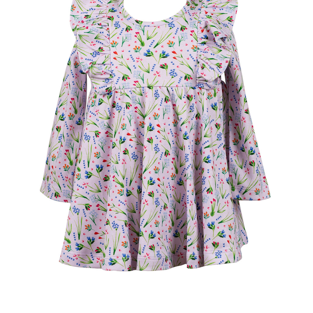 THE PROPER PEONY FINLEY FLORAL TWIRL DRESS