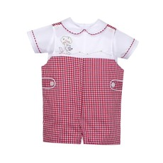 REMEMBER NGUYEN LITTLE RED RIDING HOOD SHORTALL SET