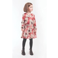 IMOGA SYLVIE DRESS- HIBISCUS