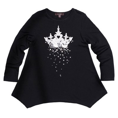 IMOGA AMBER TUNIC- CROWN BLACK
