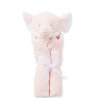 ANGEL DEAR PINK ELEPHANT BLANKIE