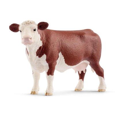 SCHLEICH HEREFORD COW