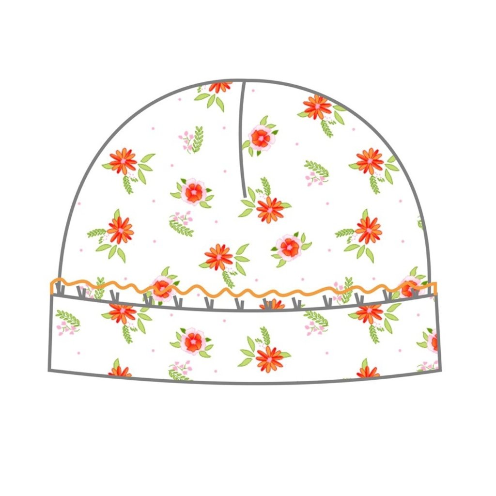 MAGNOLIA BABY AUTUMN'S CLASSICS PRNTD RUFFLE HAT