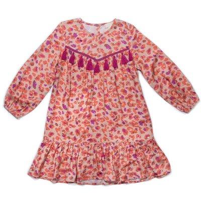 EGG NEW YORK SEQUIN LEOPARD NYLAH DRESS